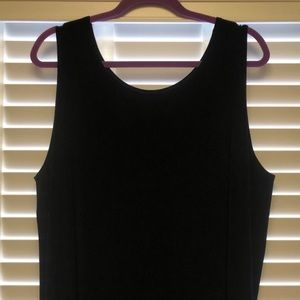 Chico's Solid Black size 4 top